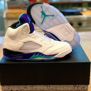 Jordan Shoes - Air Jordan Retro 5 NRG FRESH PRINCE laceless uk 6 683a17720